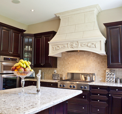 The Beauty of Stone Kitchen Hoods Home